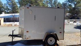 2015 Cargo Trailer 5'x8' V-Nose For Sale or Trade in Alamogordo, New Mexico