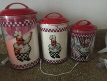 chef guy canister sets brand new in box in Conroe, Texas