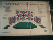 13 pc patio entertainment set in Alamogordo, New Mexico