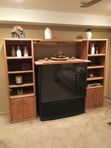 ENTERTAINMENT CENTER WITH TV in Orland Park, Illinois