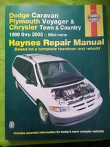 [DODGE CARAVAN/PLYMOUTH/CHRYSLER REPAIR MANUAL{BRAND NEW} in Cherry Point, North Carolina