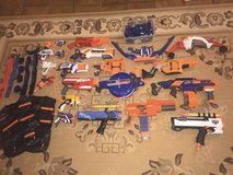 HUGE Nerf Gun Collection; 250+ Bullets, Variety of Nerf Guns, RIVALS, Protective Gears, Bows, an... in Ramstein, Germany