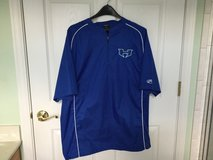 HITMEN baseball team short sleeve 1/4 zip warm up jacket (NEW) in Chicago, Illinois