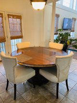 Round Dinning Room Table and 4 Chairs in Bolling AFB, DC