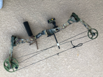 Bear Charge compound bow in Houston, Texas