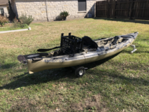 Heritage Angler Kayak in Houston, Texas
