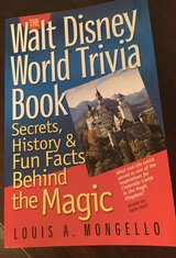 Disney World Trivia Book in Joliet, Illinois