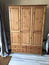 Wooden wardrobe in Lakenheath, UK