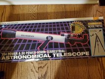 Terrestrial-Astronomical Telescope 134 Power and 50 Power 50mm in Batavia, Illinois