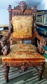 "19th Century French ""Throne"" in Beaufort, South Carolina"