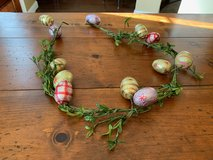Easter egg garland in Kingwood, Texas
