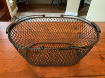 Black metal basket in Kingwood, Texas