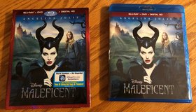 Maleficent (Blu-Ray + DVD + Digital HD) New in Plainfield, Illinois
