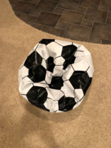 Soccer ball bean bag in Naperville, Illinois