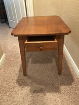 Pine Side Table in Kingwood, Texas