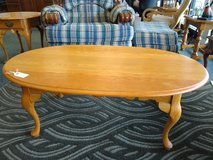 Oval Oak Coffee Table in Chicago, Illinois