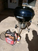 Weber Charcoal Barbeque grill, brand new with Starter set in Alamogordo, New Mexico