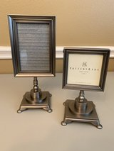 Pottery Barn Easel Silver Picture Frames in Kingwood, Texas