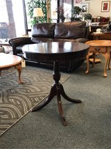 Round Side Table with Drawer in Chicago, Illinois