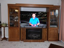 Entertainment Center can be purchased with Ventless Propane Gas Logs or separate in Pleasant View, Tennessee
