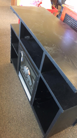 Electric Fireplace Heater/ TV Stand (New) in Fort Leonard Wood, Missouri