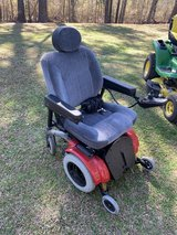 Jazzy 1133 Electric Wheelchair and Carrier. in Camp Lejeune, North Carolina