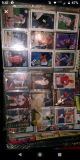 lot baseball card collection in Fort Campbell, Kentucky