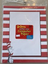 Dr. Seuss Computer Paper in Okinawa, Japan