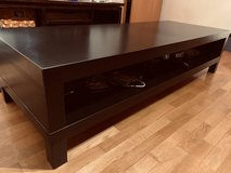 Super solid large black coffeetable in Shreveport, Louisiana
