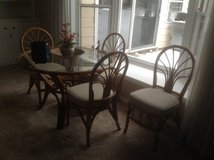 Bamboo Table and Chairs in Glendale Heights, Illinois