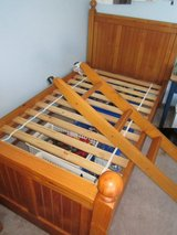 Land of Nod twin bunk bed in Aurora, Illinois