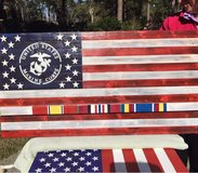 Veterans Campaign Flag in Beaufort, South Carolina