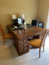 Stanley Furniture Provincia  Partners Desk with room for three in Aurora, Illinois