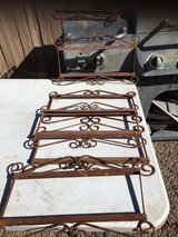 Frames for tile numbers in Alamogordo, New Mexico