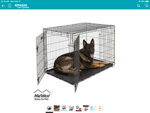 XL dog crate in Fort Campbell, Kentucky