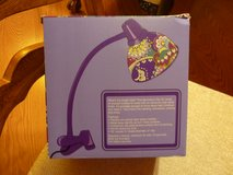 BRAND NEW VERA BRADLEY CLIP ON DESK LAMP $15 in Naperville, Illinois