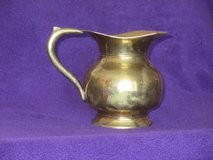 Brass Wide Belly Pitcher in Glendale Heights, Illinois