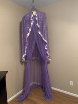Purple & Gold girls canopy in Cleveland, Texas