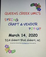 Spring Craft Vendor POP Up hosted by Queens Creek UMC in Cherry Point, North Carolina