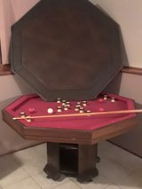 Bumper pool/poker Game Table in Chicago, Illinois