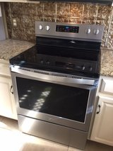 Whirlpool Stainless Electric Range in Houston, Texas