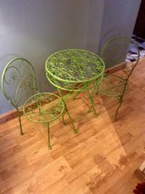 adorable child's bistro set, antique in Orland Park, Illinois