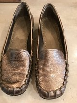 Bandolino gold loafers in Houston, Texas