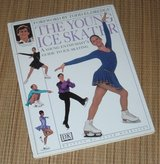 Vintage 1998 The Young Ice Skater Hard Cover Book Educational Techniques in Morris, Illinois