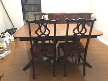 Dining Table, 4 chairs and buffet in Houston, Texas