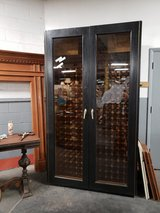 Vinotemp custom refrigerated wine cabinet in Westmont, Illinois