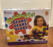 Learning Resources Building Set: Gears! Gears! Gears! in Fort Campbell, Kentucky