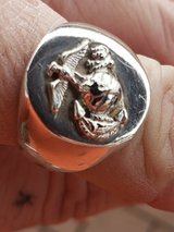 USMC Marines sterling silver ring in Grafenwoehr, GE