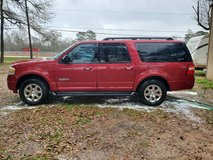 2008 Ford expedition EL with 3rd row chair in Baytown, Texas