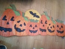 Pumpkin table runner from Kohl's in Camp Lejeune, North Carolina